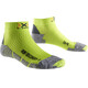 X-Socks M's Run Discovery Socks Green Lime/Grey Mouline